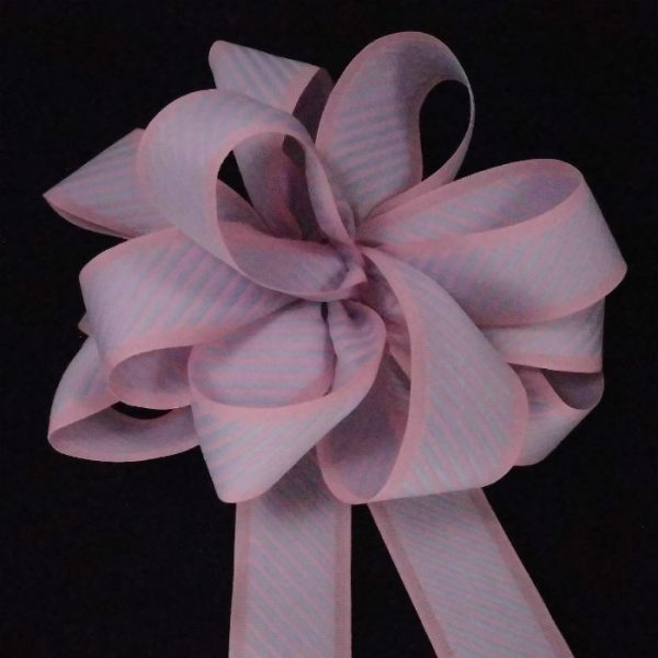Pink Striped Ribbon