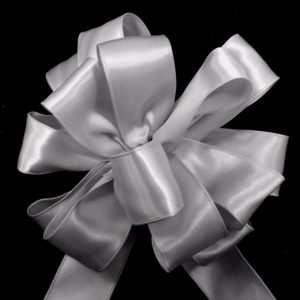 wired satin ribbon