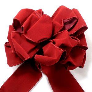 wired velvet ribbon