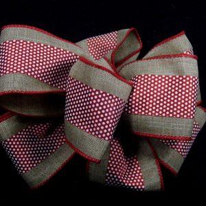 mini dot ribbon