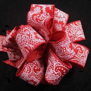 paisley ribbon
