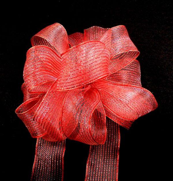 metallic sheer ribbon
