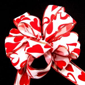 wired valentine ribbon