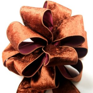 crushed velvet ribbon