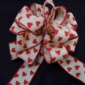 Cnvas Valentine ribbon