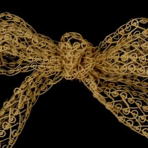 rustic bow ribbon