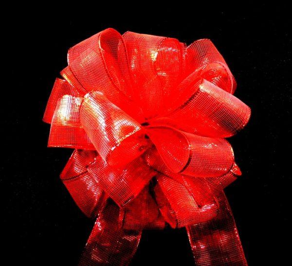 Red Sheer Ribbon