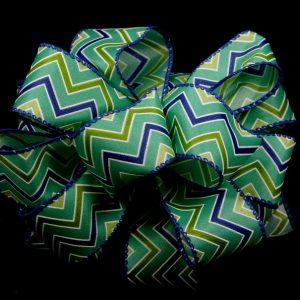 zig-zag pattern ribbon