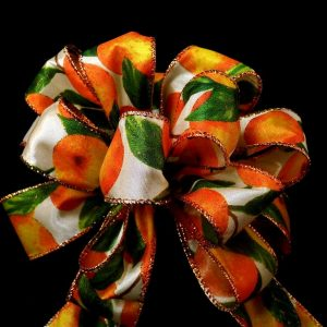 wired orange ribbon