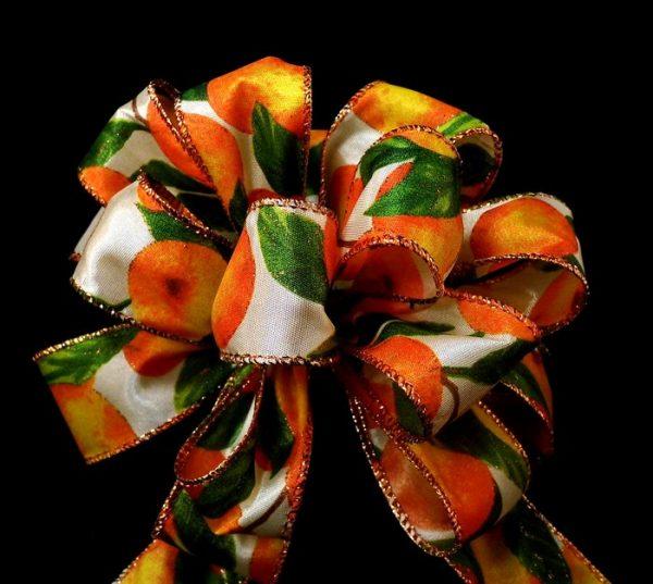 wired orange ribbon