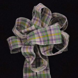 Spring Plaid Ribbon