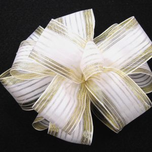 sheer bridal ribbon