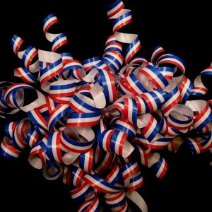Patriotic Curling Ribbon