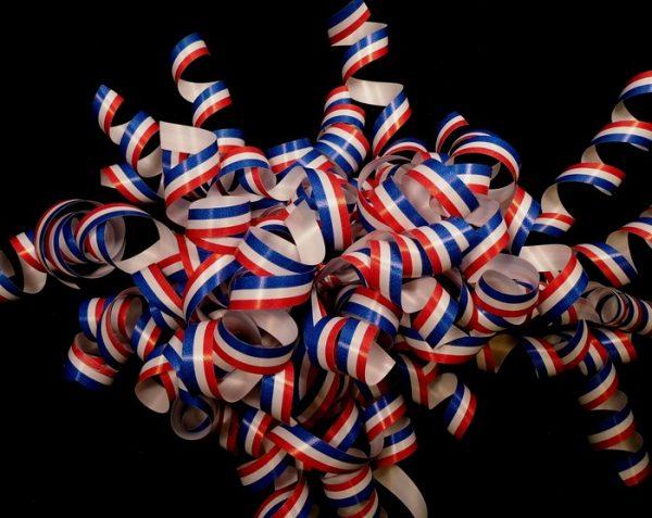 Patriotic Curling Ribbon