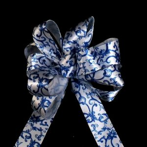 Satin Scroll Ribbon