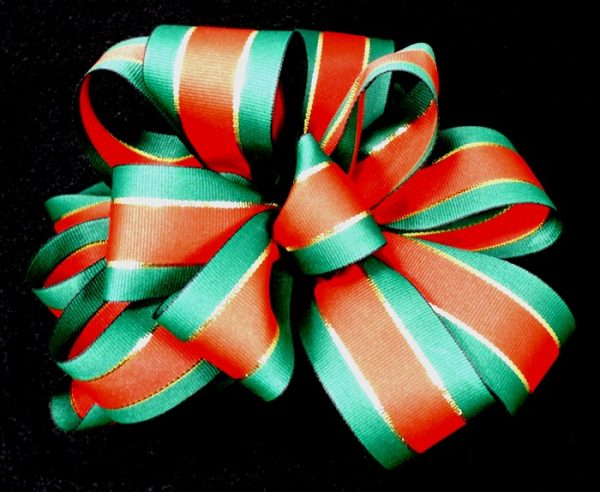 un-wired christmas ribbon