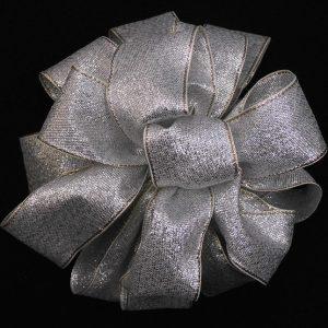 Woven Metallic Ribbon