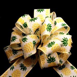 pineapple print ribbon