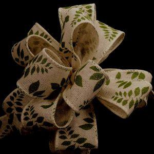 leafy ribbon