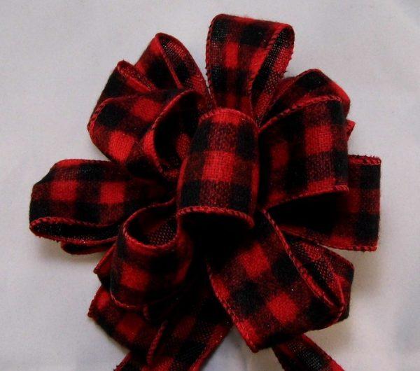 Buffalo Plaid ribbon