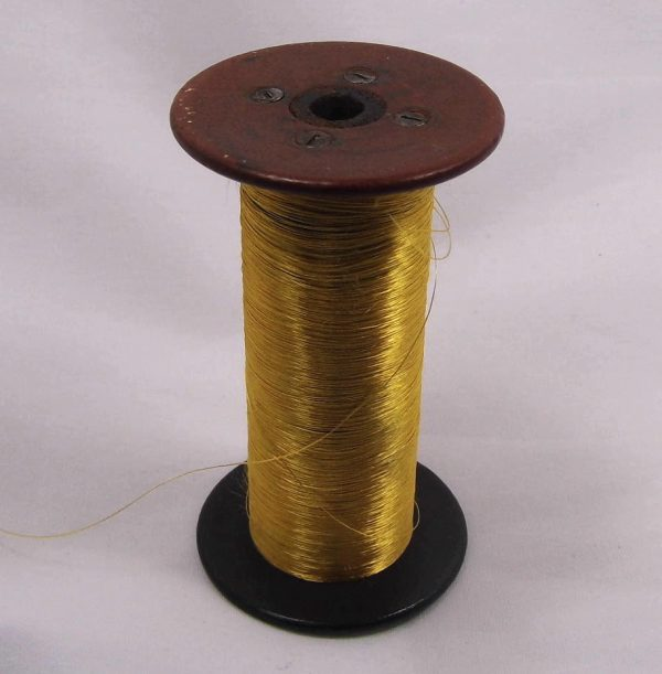 Spool with Gold THread