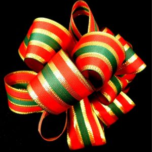 non-wired Christmas Ribbon