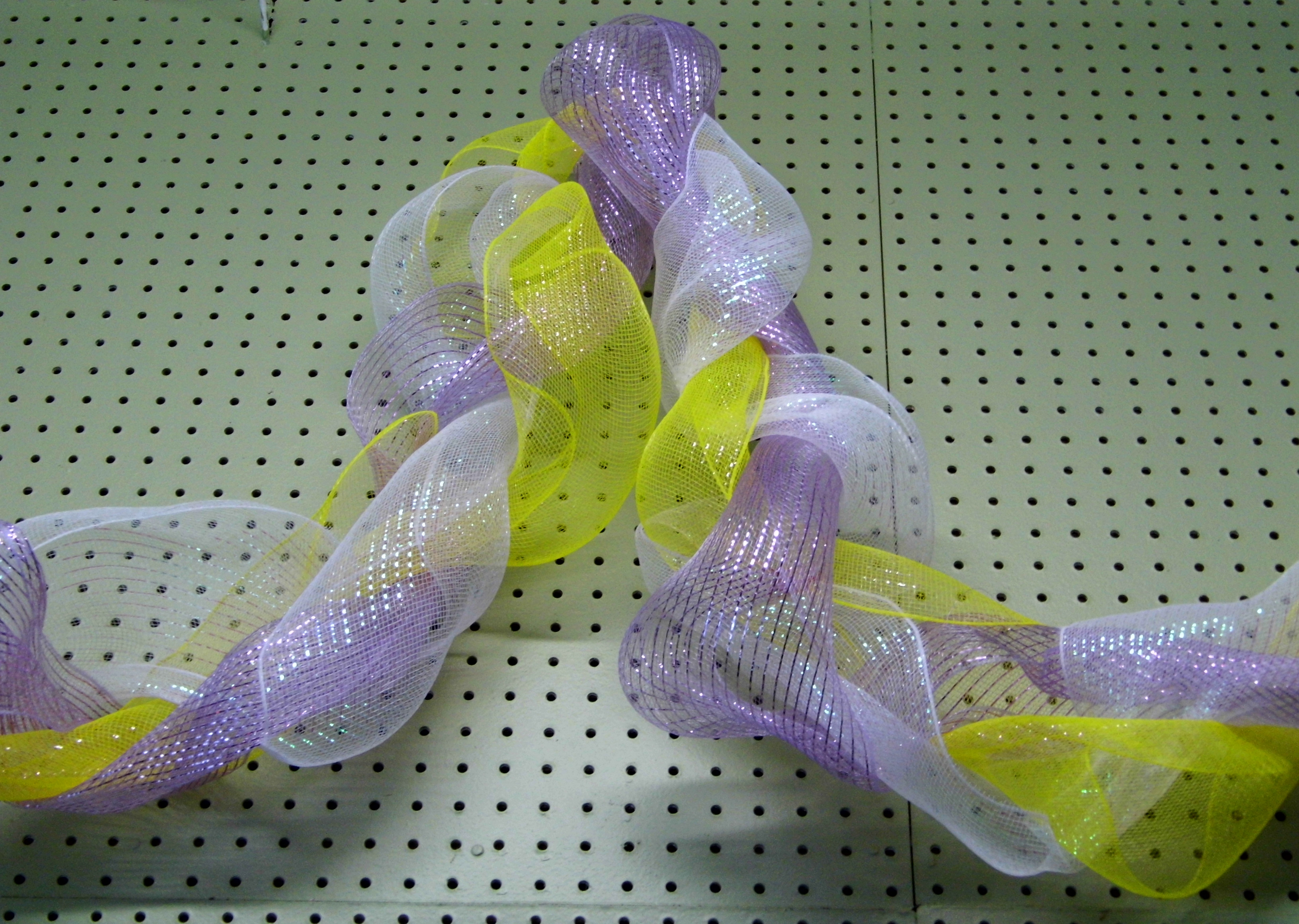 Roll Of Spring Violet Wide Acetate Ribbon