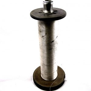Antique Spools with Thread