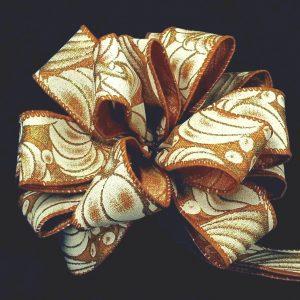 wired pumpkin ribbon