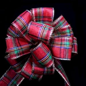 Traditional Plaid Ribbon