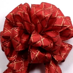 diamond pattern ribbon