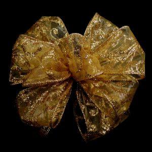sheer brocade ribbon