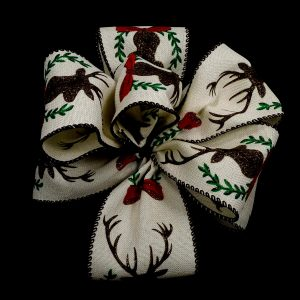 wired deer ribbon