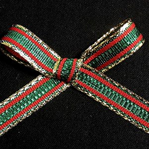 thin striped ribbon