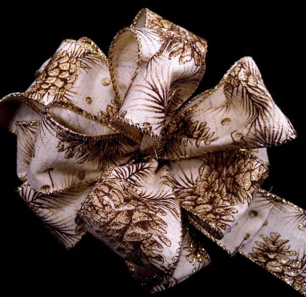 pinecone ribbon