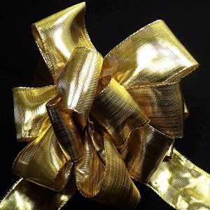 wired metallic ribbon