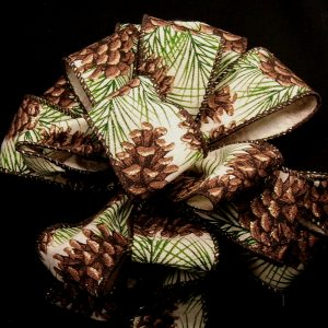Wired Pinecone ribbon