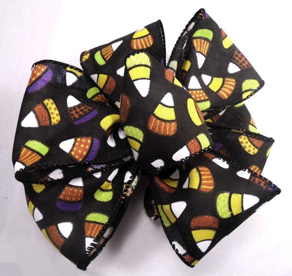 wired candy corn ribbon