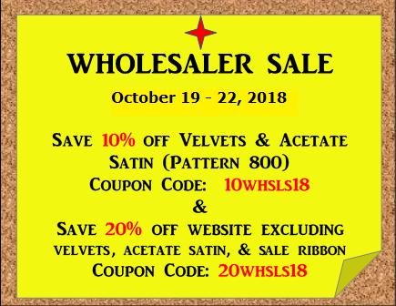 Wholesaler Sale Website Ad