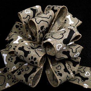 paw print ribbon