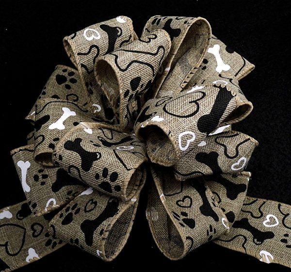 wired paw print ribbon