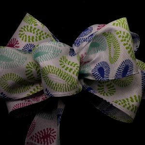 flower petal ribbon