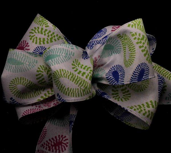 flower petal ribbon
