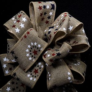 patriotic theme ribbon