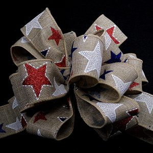 patriotic star ribbon