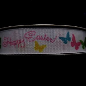 happy easter ribbon
