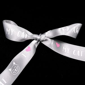 I love my cat ribbon
