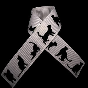 black cat ribbon