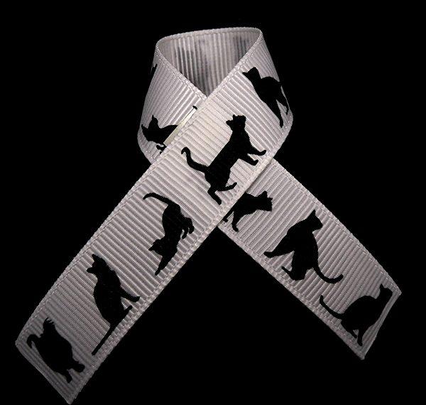black cat ribbon