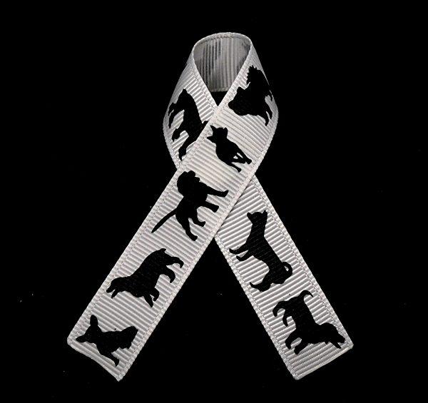Black Dog Ribbon